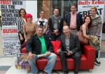 News chief meets readers on big red sofa tour