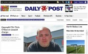 The Daily Post's website topped the table for online growth