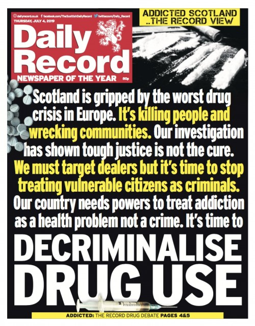 Daily Record decrim