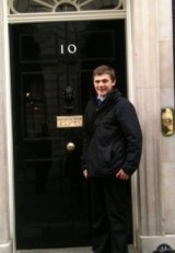Dan Wright of the KM Group at 10 Downing Street