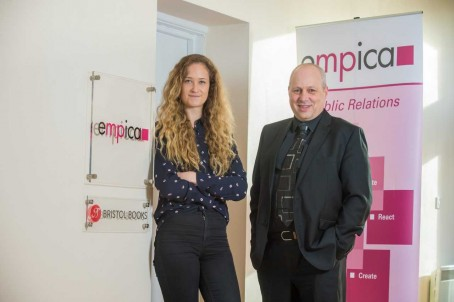 New Empica appointments Hannah Mead and Darren Bane
