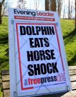 The eye-catching bill from the Denbighshire Free Press