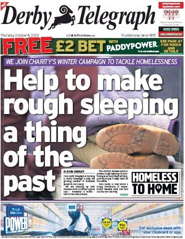 Derby homeless