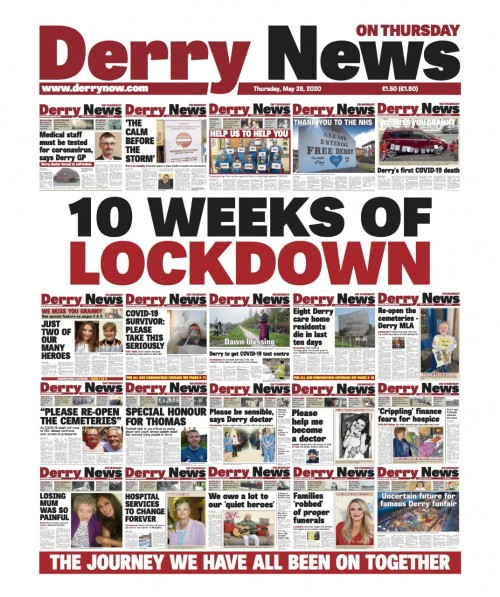 Derry News fronts