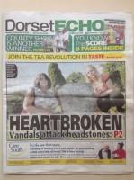 Dorset Echo front page