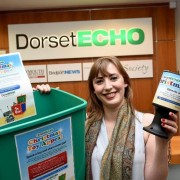Echo trainee reporter Meghan Hindley at the appeal's launch