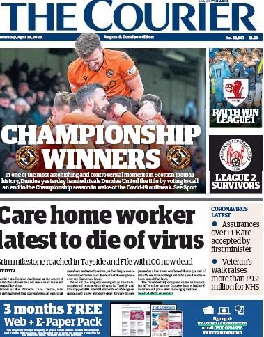 Dundee winners