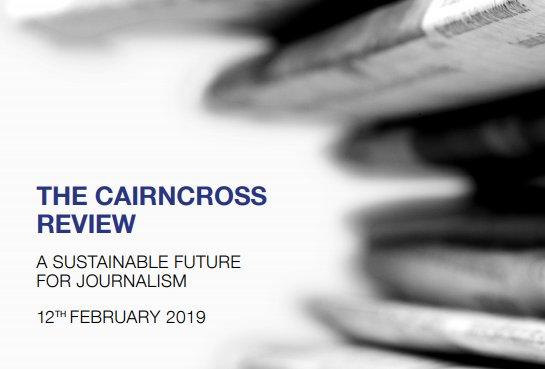 Cairncross Report