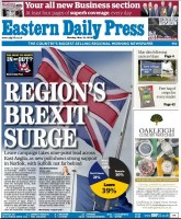 The poll provided a splash for the EDP on Monday