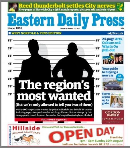 EDP criminals