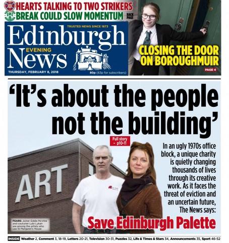 Edinburgh Palette