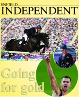 The Enfield Independent featured a trio of local heroes in dressage gold medallist Charlotte Dujardin, show jumper Ben Maher and high-jump bronze medallist Robbie Grabarz