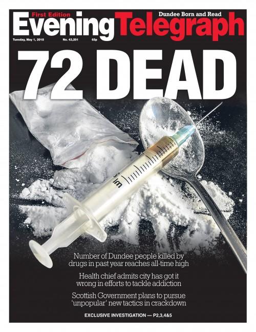 Evening Telegraph - 72 DEAD