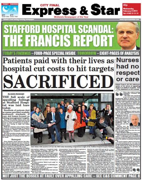 Stafford Hospital scandal