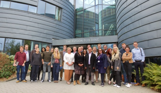 Facebook journalists with Bournemouth University staff and NCTJ representatives