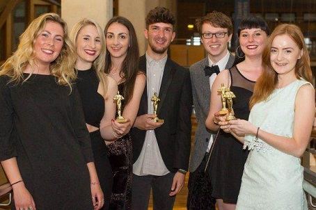 The winners of the Falitzers awards are pictured.
