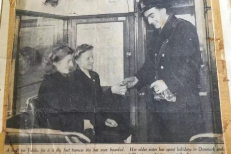 The initial Scotsman story from 1949