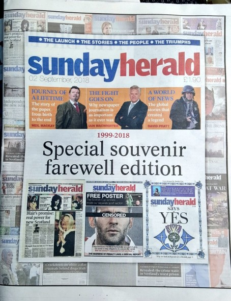 Final Sunday Herald