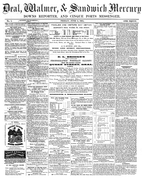 The first edition of the paper.
