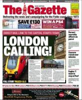 Gazette front