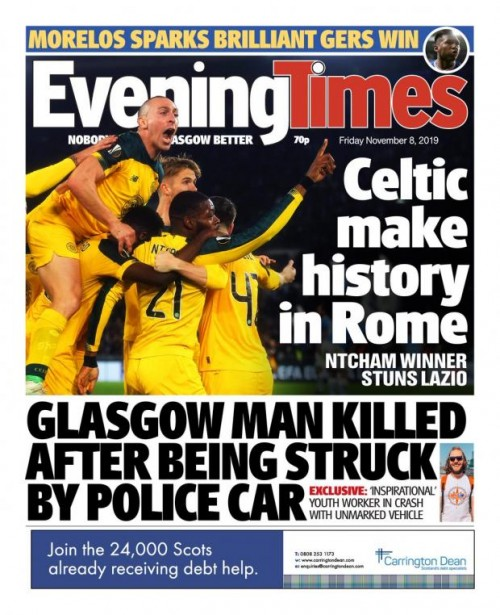 The new-look Evening Times