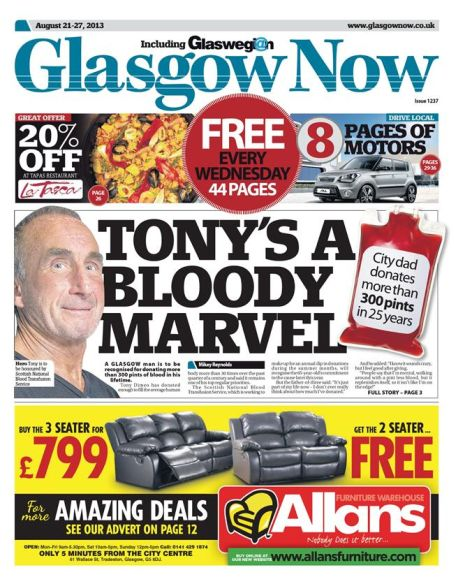 Glasgow Now when it relaunched 15 months ago.