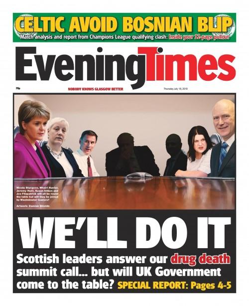 Glasgow drug death