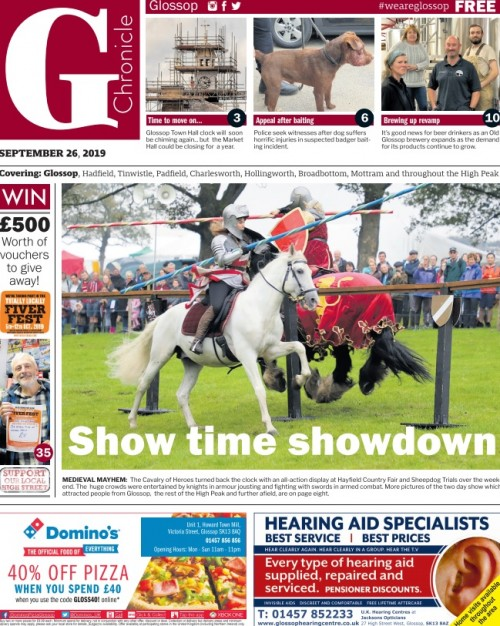 The new-look Glossop Chronicle