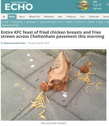 Gloucs chicken