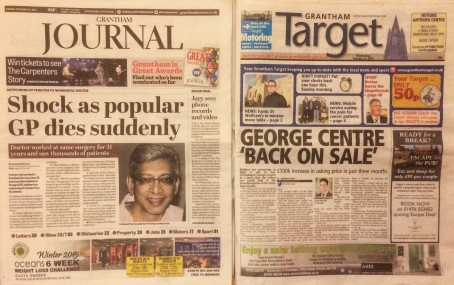 Grantham Journal and Target