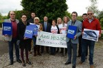 Readers march to minister's door after weekly demands action over HS2