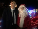 Reporter helps Father Christmas raise funds for struggling families