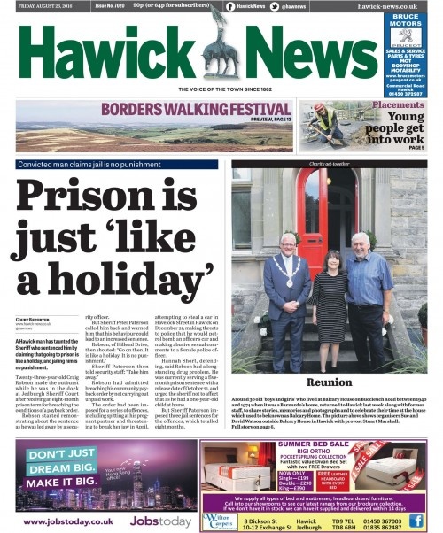 Hawick NEws