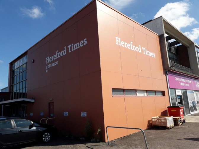 Hereford Times office