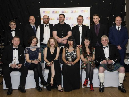 The Highlands and Islands Media Awards winenrs