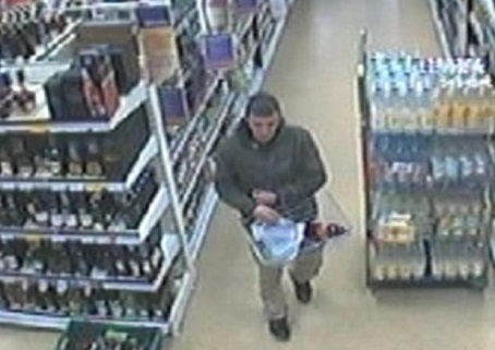 The CCTV image that led to the conviction.