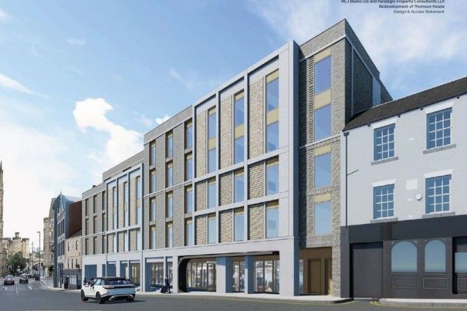 Reach plc's artist's impression of how the scheme could look