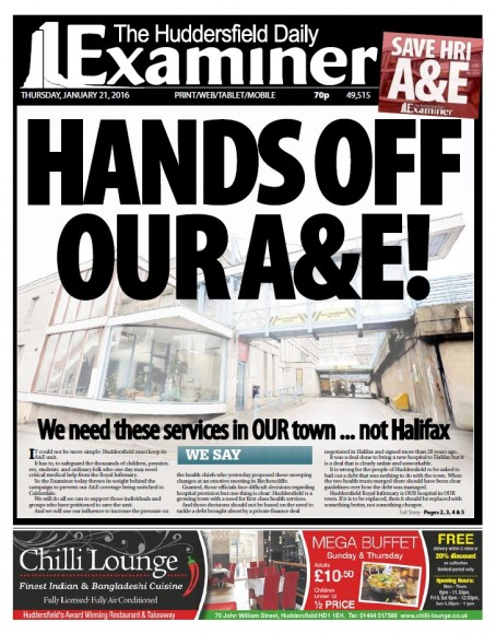 The Examiner launched its campaign in January