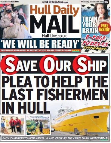 Hull Ship