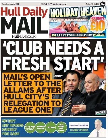 Hull letter