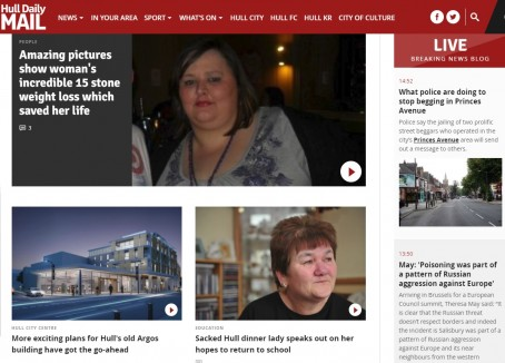 The Hull Daily Mail's site will become Hull Live