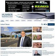 The HumberBusiness.com homepage