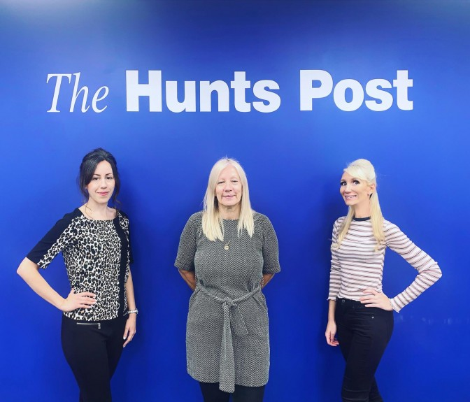 From left: Post reporter Clare Butler, editor Debbie Davies and reporter Alex Collett