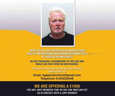 Ian Workman advert