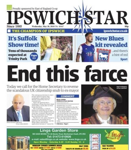 Ipswich farce