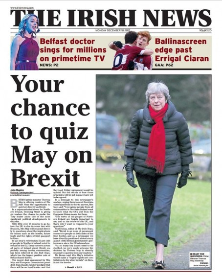 Irish News Brexit