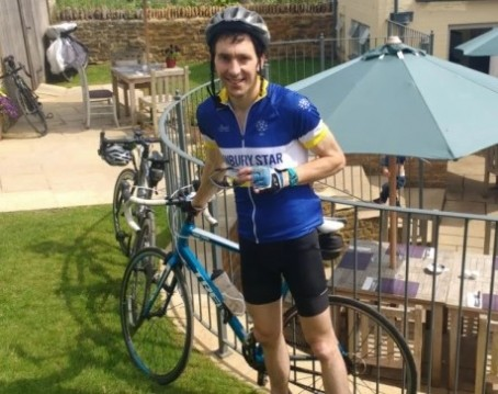 Former regional journalist bikes to Holland and back for charity