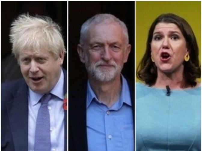 Johnson Corbyn Swinson