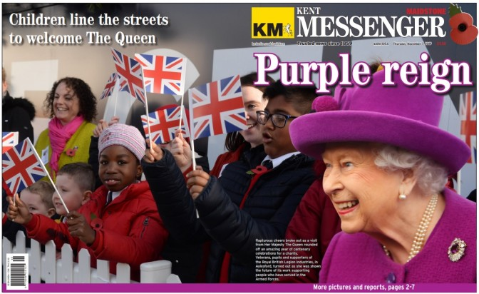 KM Purple wrap