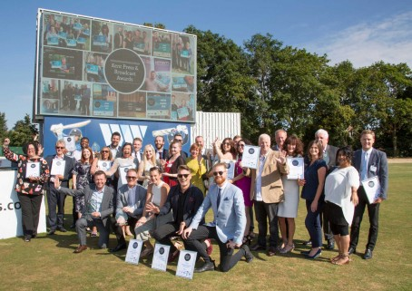 The winners of the 2018 Kent Press & Broadcast Awards
